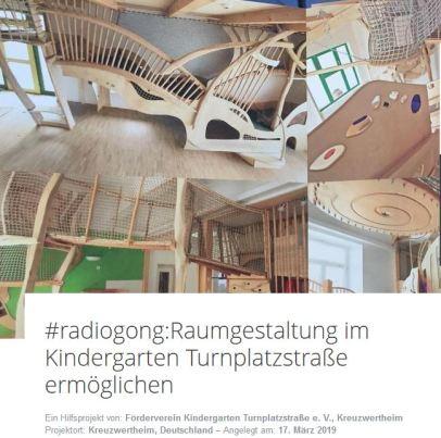Spendenprojekt Raumgestaltung